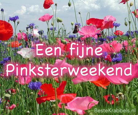Een fijn Pinksterweekend